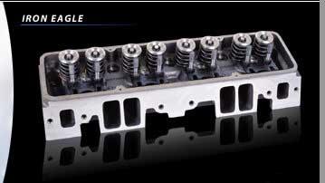 Iron Eagle SBC 180cc Port Cylinder Heads *Bare* [10110010
